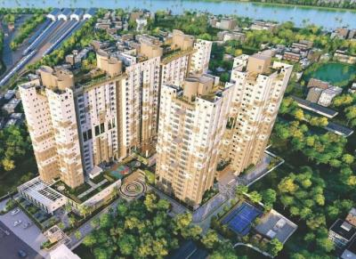 Gallery Cover Image of 1206 Sq.ft 2 BHK Apartment for buy in Howrah Railway Station for 5427000