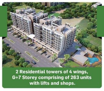 Gallery Cover Image of 490 Sq.ft 1 BHK Apartment for buy in JMJ Sun City, Rasayani for 1790000