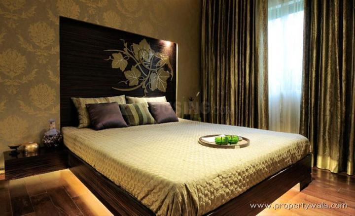 Bedroom Image of 1137 Sq.ft 2 BHK Apartment for buy in Shapoorji Pallonji BKC 28, Bandra East for 29990000
