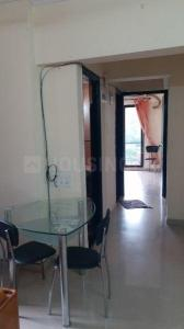 Gallery Cover Image of 640 Sq.ft 1 BHK Apartment for rent in Lalani Residency, Thane West for 16500