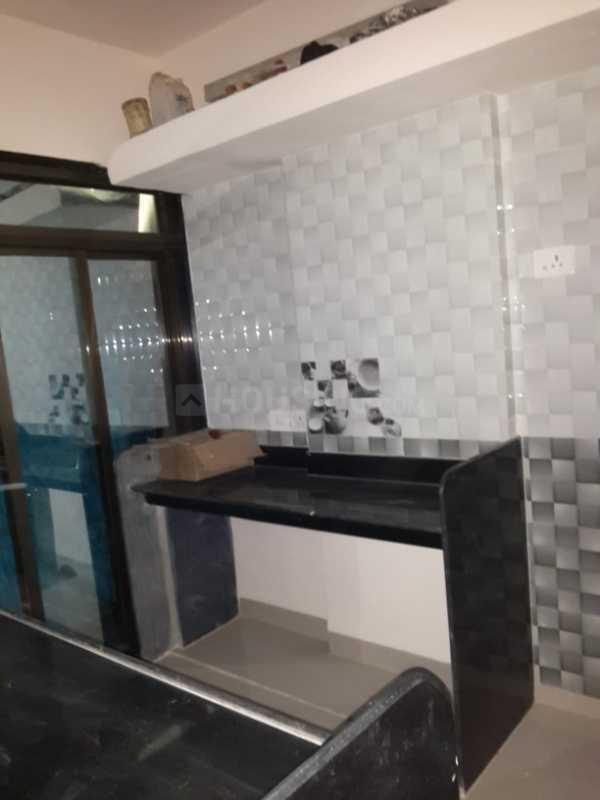Kitchen Image of 660 Sq.ft 1 BHK Apartment for rent in Kalyan East for 8000