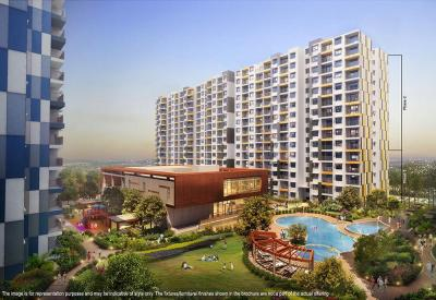 Gallery Cover Image of 1915 Sq.ft 3 BHK Apartment for buy in Adarsh Palm Retreat Lake Front, Kaikondrahalli for 13700000