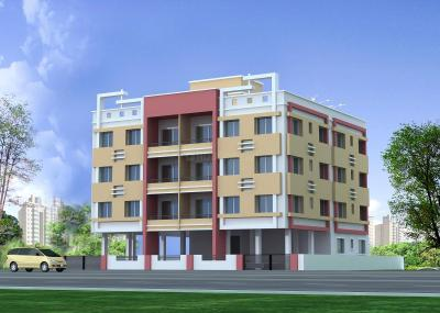 Gallery Cover Image of 760 Sq.ft 2 BHK Apartment for buy in Boral for 2300000