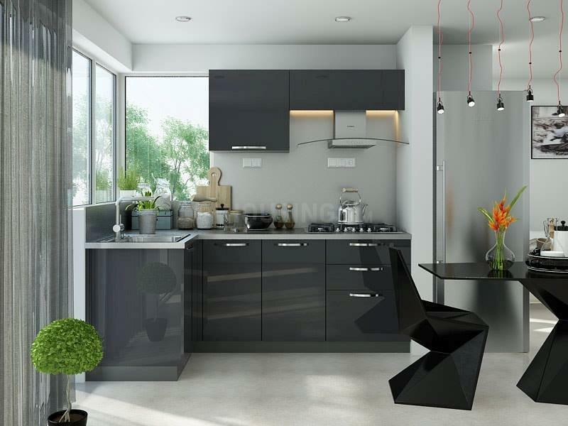 Kitchen Image of 2555 Sq.ft 3 BHK Apartment for buy in Sector 150 for 13669250