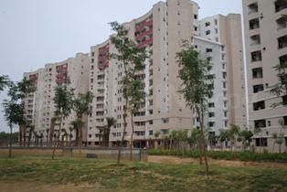 Gallery Cover Image of 1413 Sq.ft 2 BHK Apartment for buy in ABA Olive County, Vasundhara for 8500000