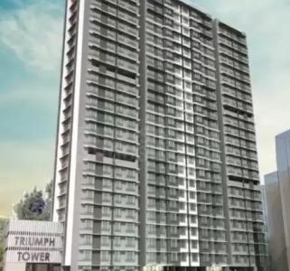 Gallery Cover Image of 1400 Sq.ft 3 BHK Apartment for buy in Triumph Towers, Malad West for 26500000