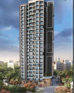 Gallery Cover Image of 669 Sq.ft 1 BHK Apartment for buy in Yogi Ajmera Bliss, Kalyan West for 4200222
