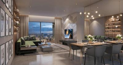 Gallery Cover Image of 1080 Sq.ft 2 BHK Apartment for buy in Thane West for 11132456