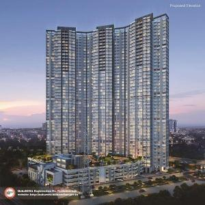 Gallery Cover Image of 928 Sq.ft 2 BHK Apartment for buy in Wadhwa Atmosphere Phase 1, Mulund West for 17800000