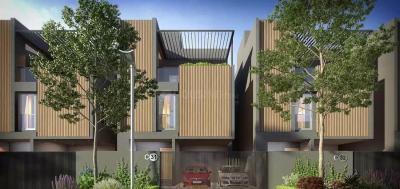 Gallery Cover Image of 2100 Sq.ft 3 BHK Villa for buy in TVS Emerald Hamlet, Karapakkam for 18000000