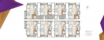 Gallery Cover Image of 1270 Sq.ft 2 BHK Apartment for buy in GHR Titania, Kondapur for 7620000
