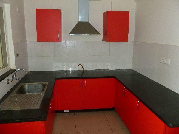 Kitchen Image of 1215 Sq.ft 2 BHK Apartment for rent in SNN Raj serenity Phase - 2, Akshayanagar for 20000