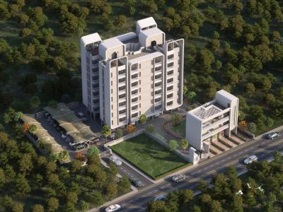 Gallery Cover Image of 541 Sq.ft 1 BHK Apartment for buy in Espree Eminence, Wadgaon Sheri for 3961000