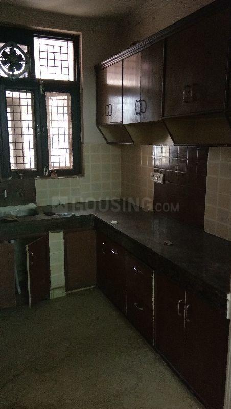 Kitchen Image of 900 Sq.ft 2 BHK Independent Floor for rent in Sector 19 Dwarka for 13500