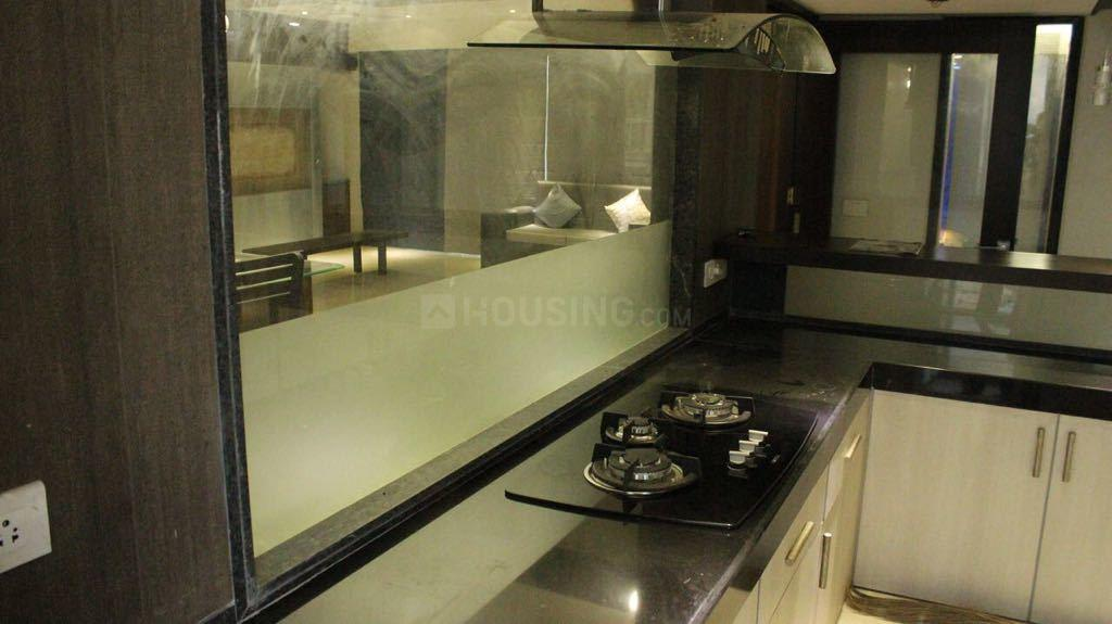 Kitchen Image of 4000 Sq.ft 4 BHK Apartment for rent in Kharghar for 110000
