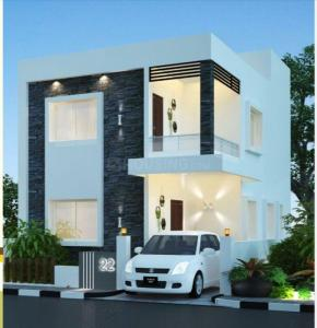 Gallery Cover Image of 1962 Sq.ft 3 BHK Villa for buy in Kowkur for 10800000