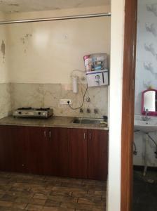 राजौरी गार्डन में वोहरा के किचन की तस्वीर