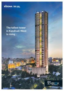 Gallery Cover Image of 793 Sq.ft 2 BHK Apartment for buy in Siddha Seabrook Apartment, Kandivali West for 13000000