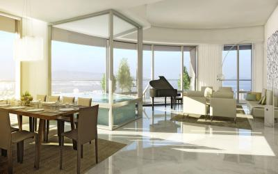 Gallery Cover Image of 2262 Sq.ft 3 BHK Apartment for rent in Lower Parel for 265000