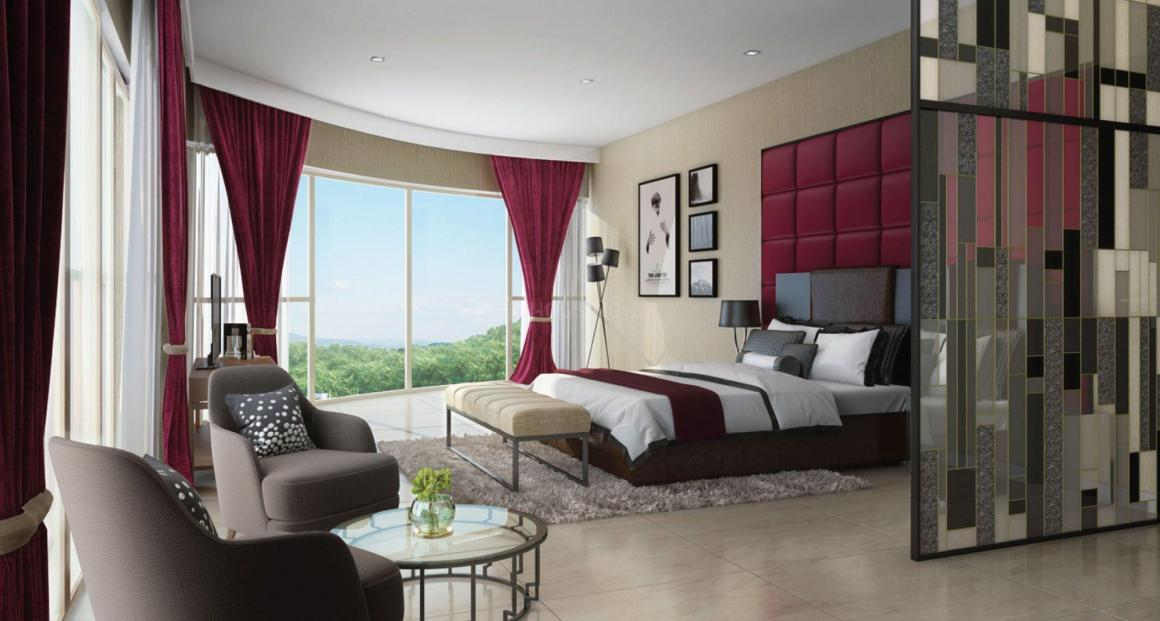 Bedroom Image of 2940 Sq.ft 5 BHK Apartment for buy in Mulund West for 79600000
