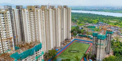 Gallery Cover Image of 713 Sq.ft 1 BHK Apartment for buy in Thane West for 6950000
