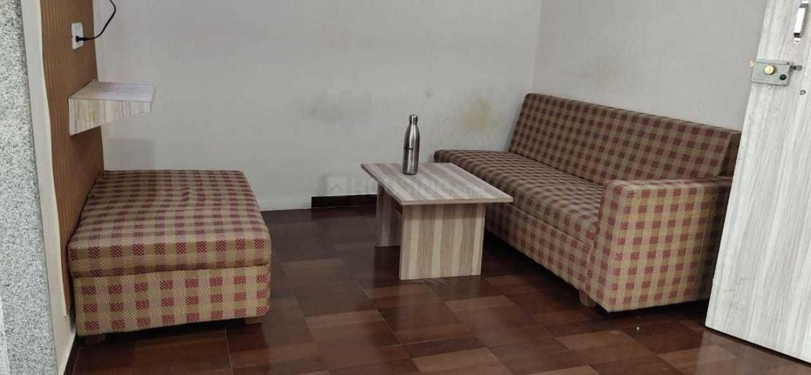 Living Room Image of 450 Sq.ft 1 RK Apartment for rent in Goregaon East for 18000