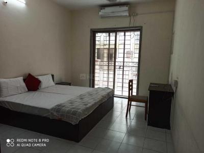 विमान नगर में सिंधु हाउसिंग के बेडरूम की तस्वीर