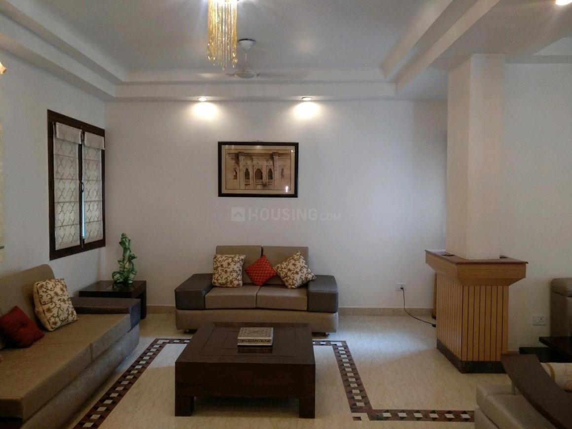 Living Room Image of 1500 Sq.ft 3 BHK Apartment for rent in Vasant Kunj for 100000