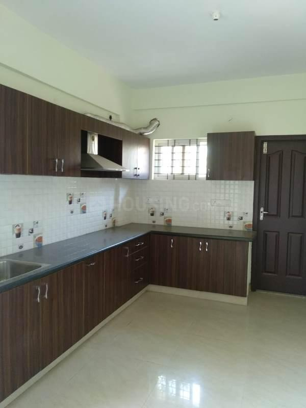 Kitchen Image of 1150 Sq.ft 3 BHK Apartment for rent in Subramanyapura for 18000