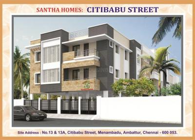 Gallery Cover Image of 721 Sq.ft 2 BHK Apartment for buy in Ambattur for 3881145