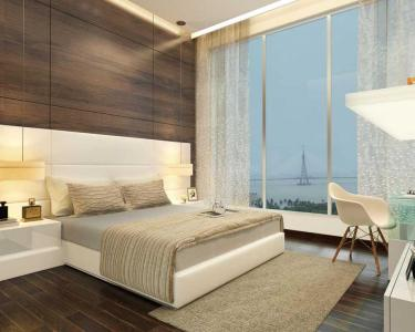 Bedroom Image of 1000 Sq.ft 2 BHK Apartment for buy in Jewel Crest, Mahim for 40000000