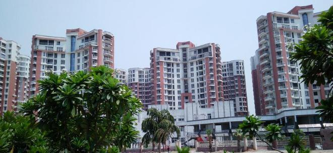 Building Image of 841 Sq.ft 2 BHK Apartment for buy in SDS NRI Residency, Omega II Greater Noida for 3600000