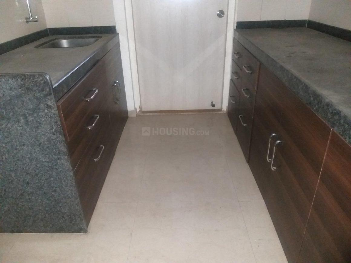 Kitchen Image of 1250 Sq.ft 2 BHK Apartment for rent in Ghansoli for 29000