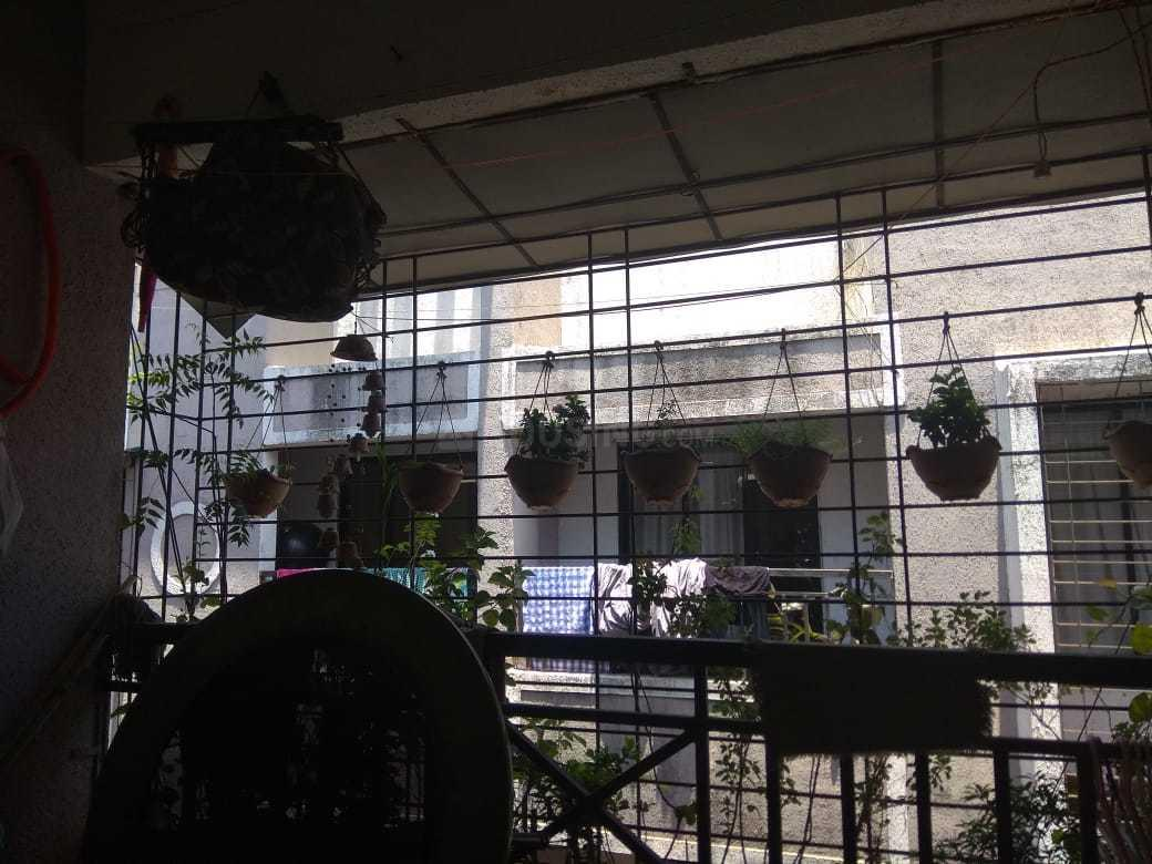 Balcony Image of 600 Sq.ft 1 BHK Apartment for rent in Bhiwandi for 8000