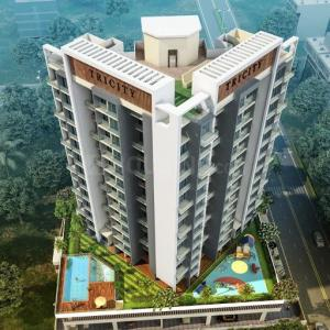 Gallery Cover Image of 1351 Sq.ft 3 BHK Apartment for buy in Tricity Promenade, Seawoods for 19500000