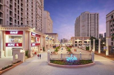 Gallery Cover Image of 630 Sq.ft 1 BHK Apartment for rent in Hiranandani The Walk, Thane West for 20000