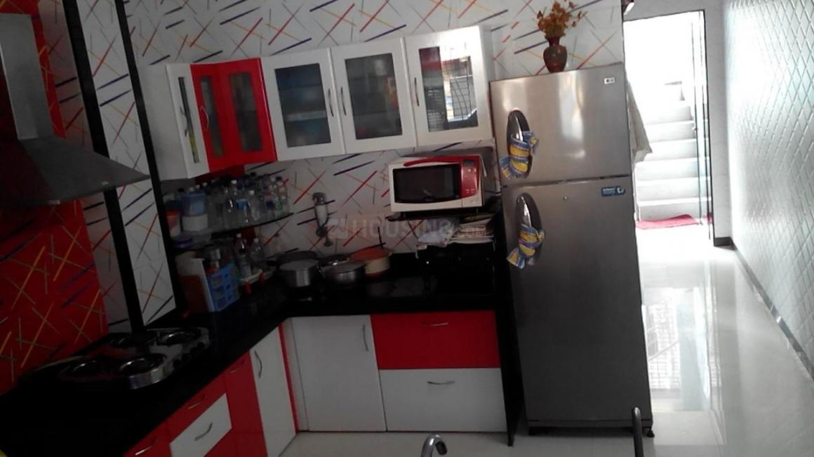 Kitchen Image of 450 Sq.ft 1 RK Apartment for rent in Thane West for 15000