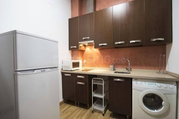 Kitchen Image of Naimi Enterprise PG in Goregaon East