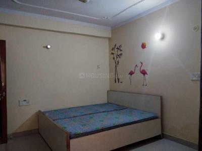 महिपालपुर में लियो होम में बेडरूम की तस्वीर