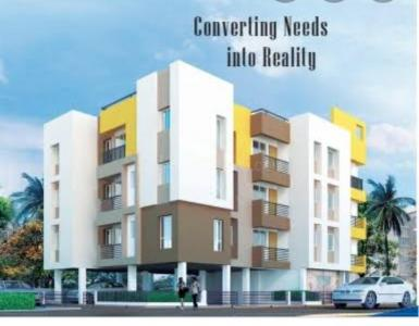 Gallery Cover Image of 1088 Sq.ft 3 BHK Apartment for buy in Ganguly 4 Sight Cabana, Garia for 5500000