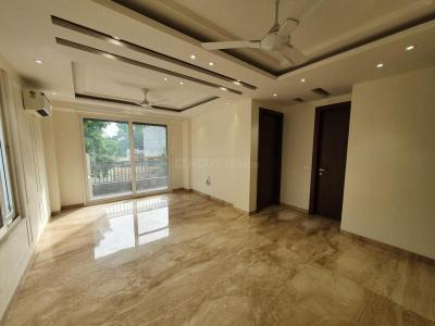 Gallery Cover Image of 1600 Sq.ft 3 BHK Independent House for rent in RWA Chittaranjan Park Block K, Chittaranjan Park for 55000