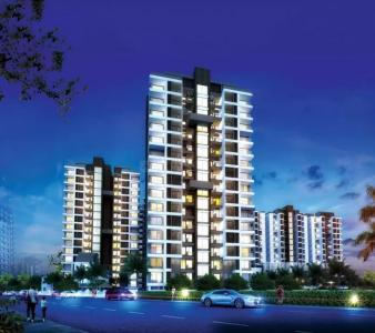 Gallery Cover Image of 675 Sq.ft 2 BHK Apartment for buy in Sumeru Navjyot Abha Phase I, Dhayari for 3643975
