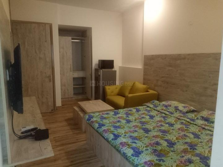 Bedroom Image of 300 Sq.ft 1 RK Apartment for rent in DLF Phase 2 for 27000