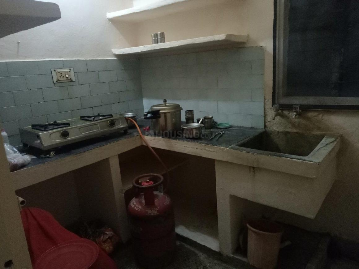 Kitchen Image of 500 Sq.ft 1 BHK Independent House for buy in Indramma Nagar for 4000000