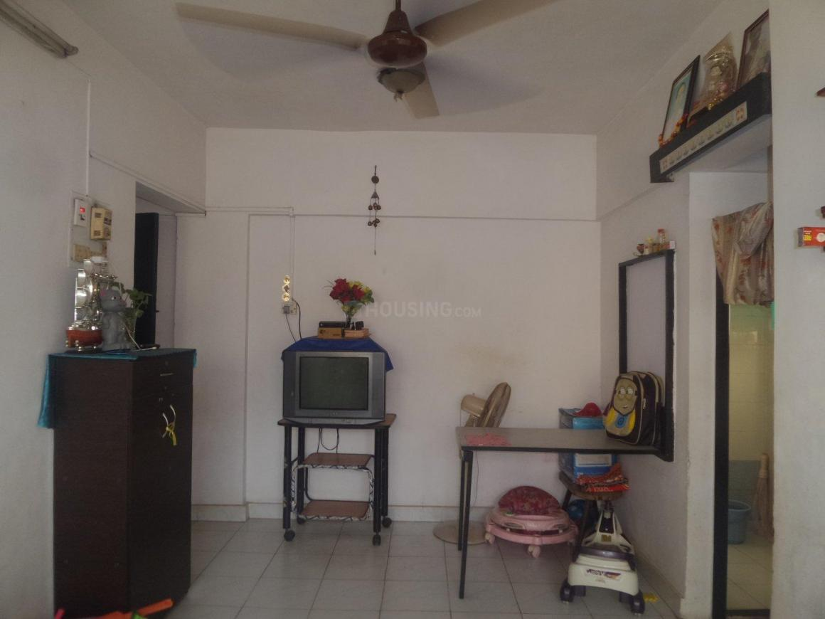 Living Room Image of 600 Sq.ft 1 BHK Apartment for rent in Andheri East for 26000