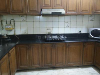 Kitchen Image of Ghar Jaisa PG in Greater Kailash I