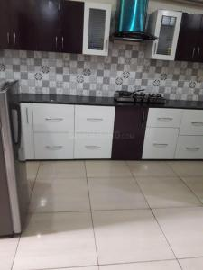 Kitchen Image of Standard Living PG With Food & Laundry In Thane Ynh in Kasarvadavali, Thane West