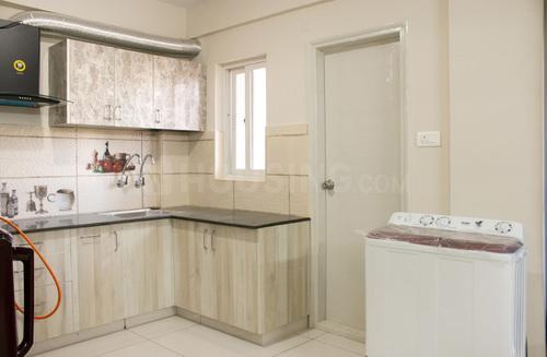 Kitchen Image of Babu Nest 109 in HBR Layout