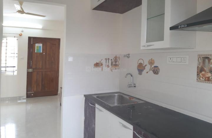 Kitchen Image of 550 Sq.ft 1 BHK Independent House for rent in Panathur for 16500