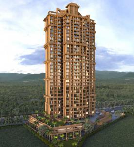 Gallery Cover Image of 601 Sq.ft 1 BHK Apartment for buy in Rutu City, Thane West for 6500000